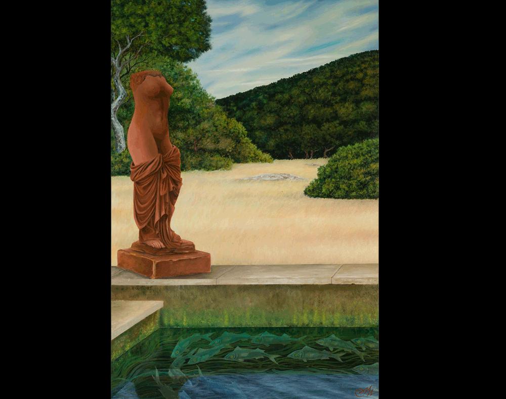 La vasca di Afrodite
